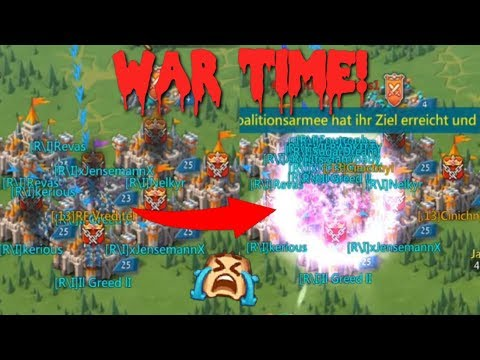 Zeroing Our Own Kingdom During KvK (War) | Lords Mobile