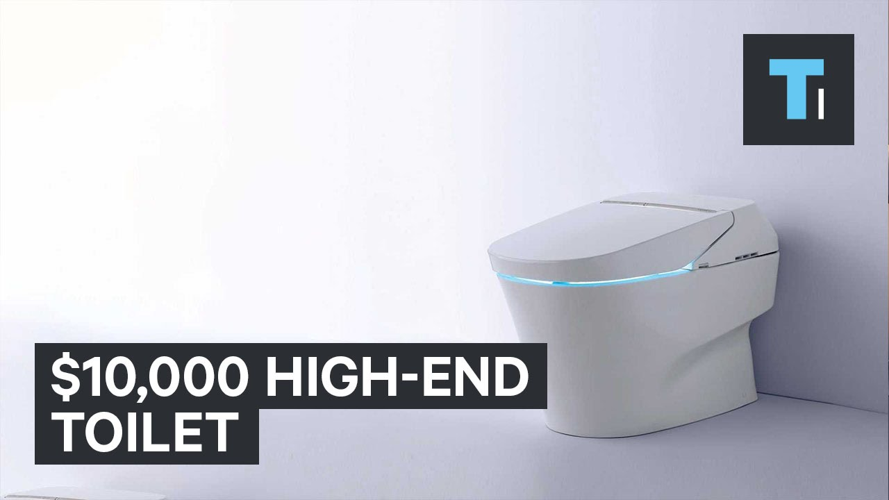 $10,000 high-end toilet - YouTube