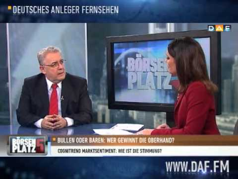 Joachim Goldberg: Optimismus ist gestiegen
