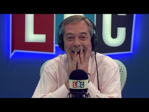 The Nigel Farage Show: Would you support Britain joining an EU Army? Live LBC - 9th November 2017