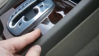 Как снять прикуриватель на AUDI A8 D2