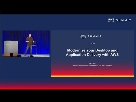 AWS Summit SF 2018: Move your Desktops & Apps to AWS with Amazon WorkSpaces & AppStream 2 (ENT307)