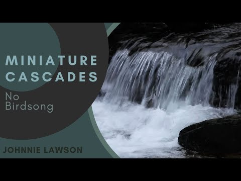 Forest Waterfall Sounds W/O Birds Singing-Relaxing Sound of Nature-Mindfulness-Relaxation-Meditation
