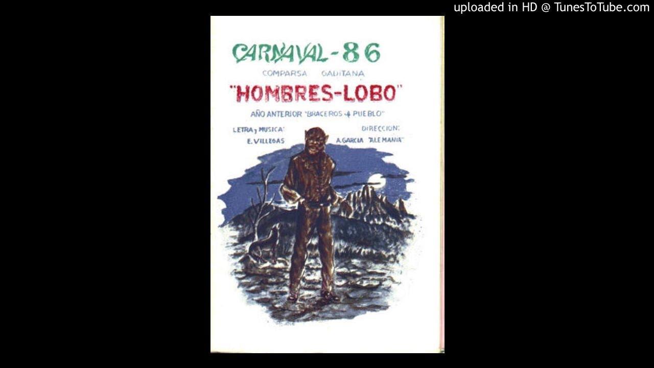 1986 Comparsa Hombres Lobos Enrique Villegas 03 Asomado A La Terraza