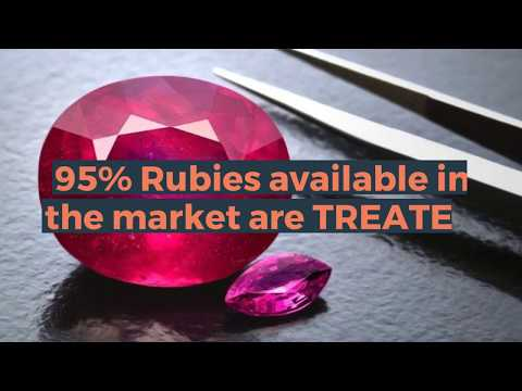 95% Rubies available in the market are TREATED | How to buy Best Quality Ruby (Manik) Stone