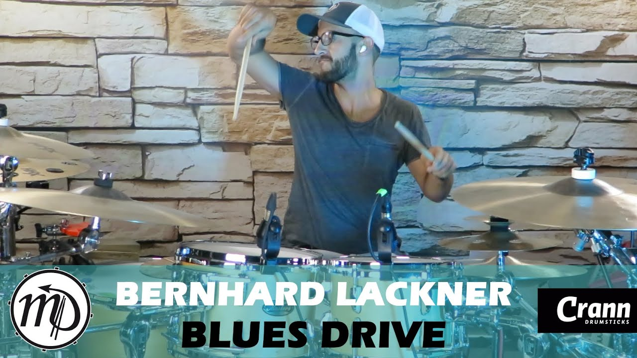 Blues Drive - Bernhard Lackner - Drum Cover Drumeo (Blues) PEARL Maple Gum