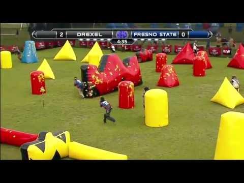 Drexel University vs. California State University, Fresno - 2016 NCPA College Paintball Prelims