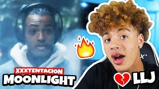 XXXTENTACION - MOONLIGHT (OFFICIAL MUSIC VIDEO) REACTION!