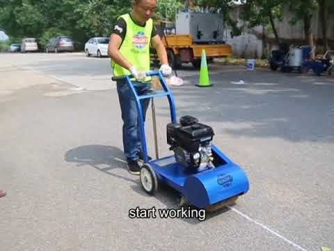 Operation Of Road Clean Machine