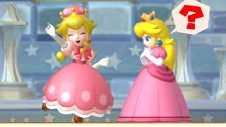 New Super Mario Bros U Deluxe - Peachette wants to rescue Peach