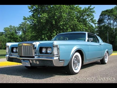 1970 lincoln continental mark iii for sale youtube. Black Bedroom Furniture Sets. Home Design Ideas
