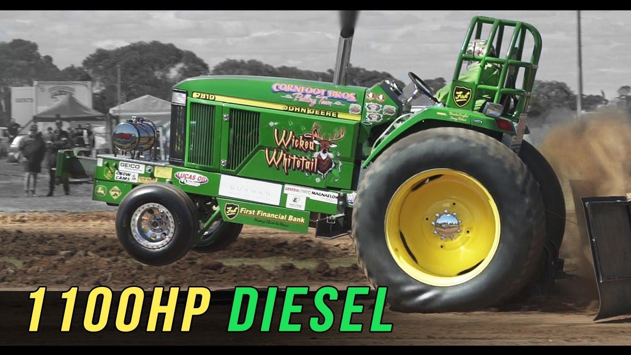John Deere Side By Side >> 1100hp John Deere | Tractor Pulling Explained - YouTube