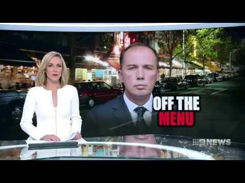 Nine News. Immigration Minister Talks Victoria's Migrant Problem.(Peter Dutton)