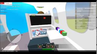ROBLOX: Gateway Int'l Airlines Full flight from Webster to Dulles on Airbus A330.
