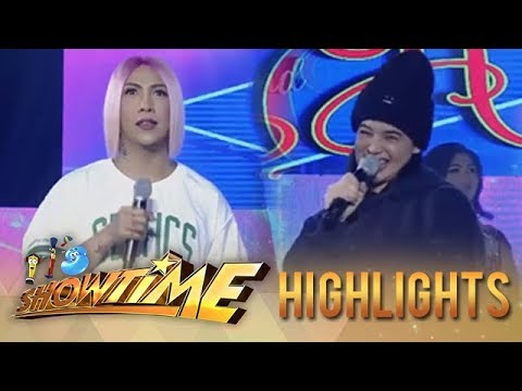 It's Showtime Miss Q & A: Vice Ganda calls Anne's voice a blessing