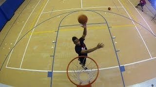 How to Do a Jump Hook Shot | Basketball Moves