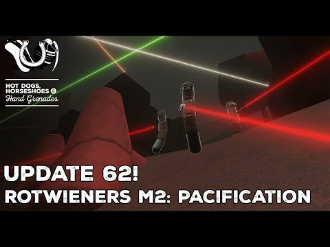 H3VR Early Access Update 62! Return of the Rotwieners Module 2: PACIFICATION