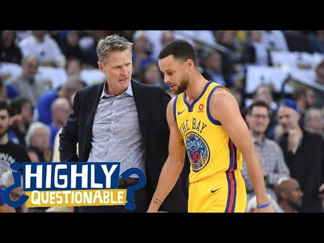 Warriors fans should be worried about Stephen Curry's injury | Highly Questionable | ESPN