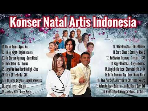 Konser Natal Artis Indonesia Kristen