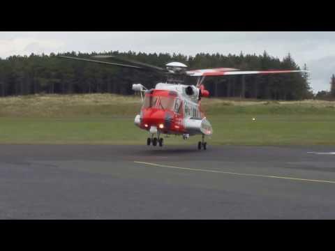 Irish Coast Guard  S92 depart Sligo