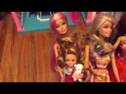The barbies family The names of the barbies
