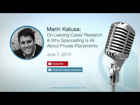 Marin Katusa: On Leaving Casey Research & Why Speculating Is All About Private Placements