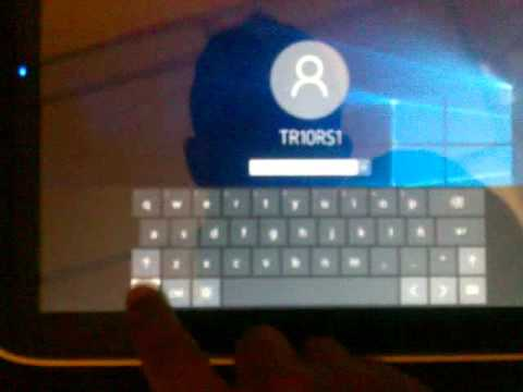 Canaima TR10RS1 Venezuelan Tablet ICS - Windows 10 Runtime