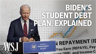 Biden plans to tackle the $1.6 Trillion student loan debt | WSJ