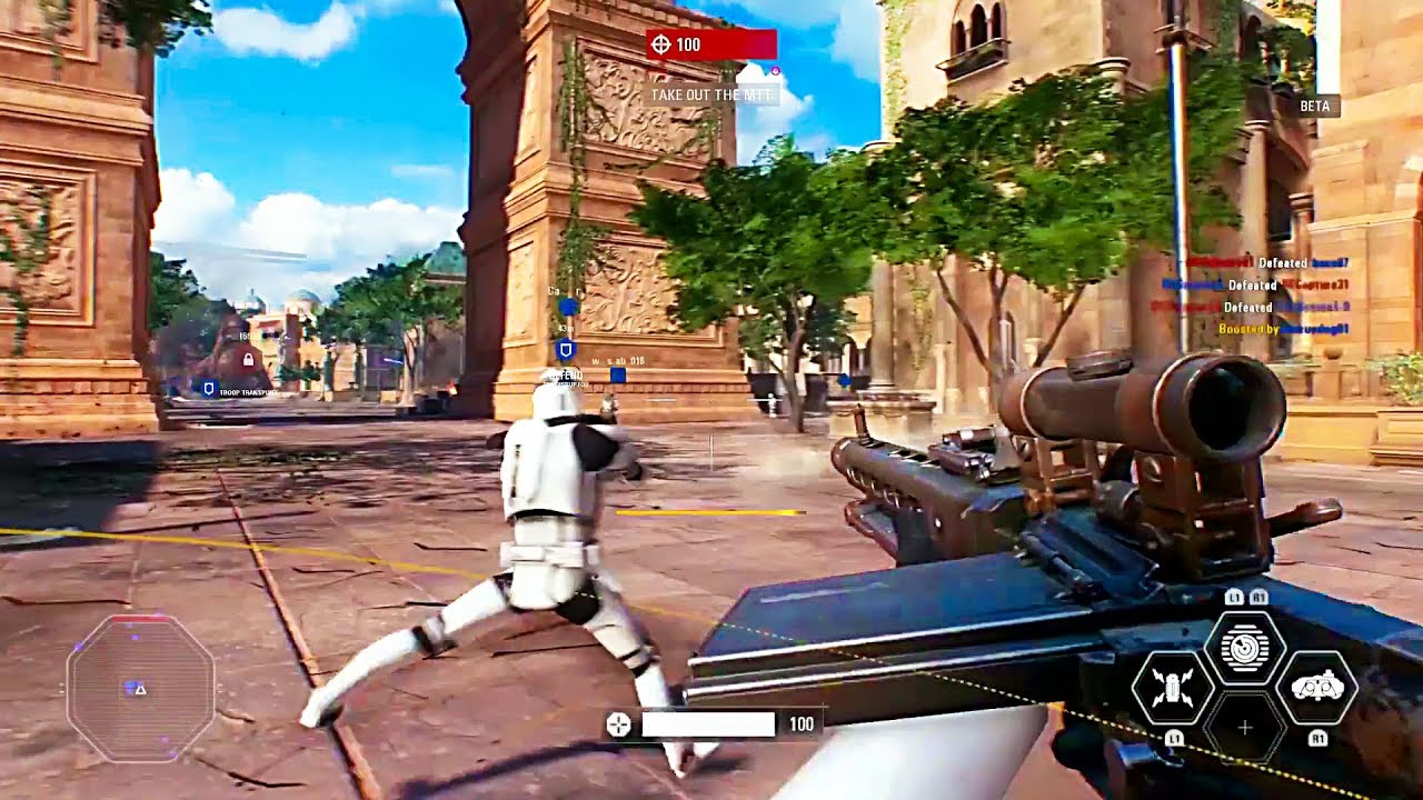 STAR WARS BATTLEFRONT 2 Galactic Assault Mode Beta Gameplay 2017 PS4