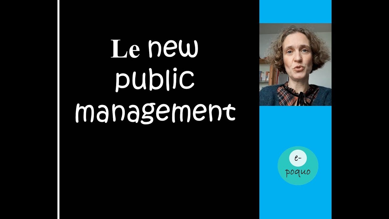 Le New Public Management Youtube