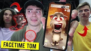 CALLING TALKING TOM ON FACETIME AT 3 AM!! (POSSESSED)