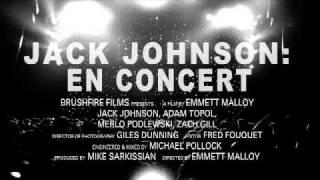 Jack Johnson - En Concert Trailer
