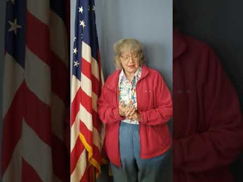 Joy Adams singing TAPS in honor of our Veterans