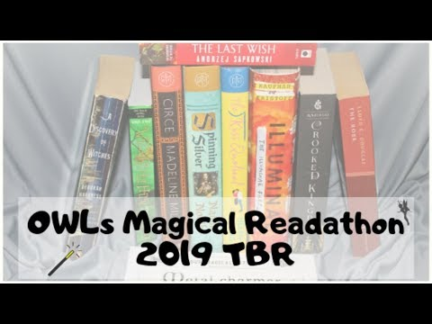 O.W.L.s TBR from YouTube · Duration:  18 minutes 1 seconds