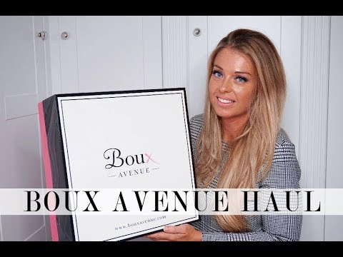 Boux Avenue Unboxing/Haul