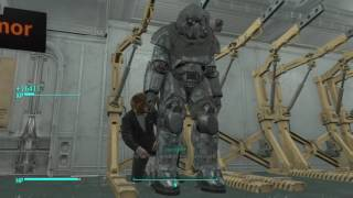 how to get the T-49 power armor and the storyTeller companion