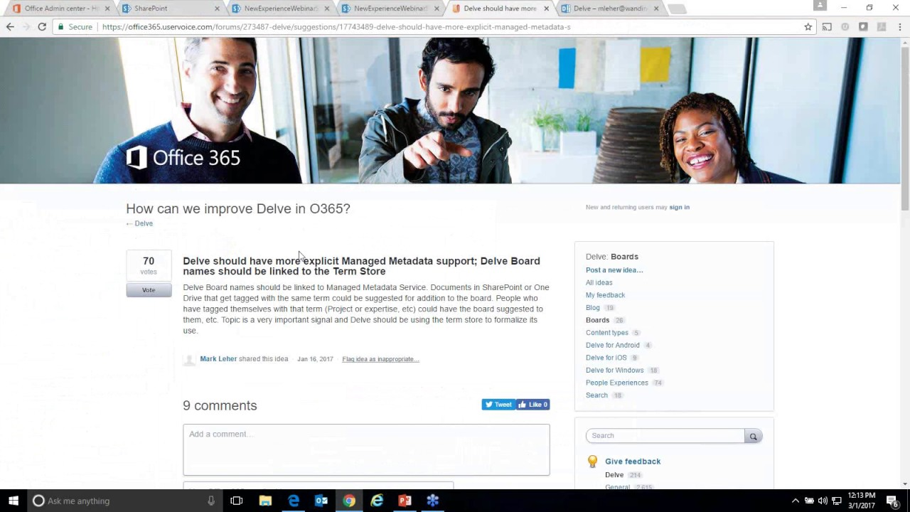 Managed Metadata 140: SharePoint Taxonomy, Managed Metadata, and the New Document Library Experience