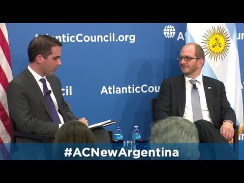 Conversation with Argentina Secretary of Trade: New Government, New Outlook