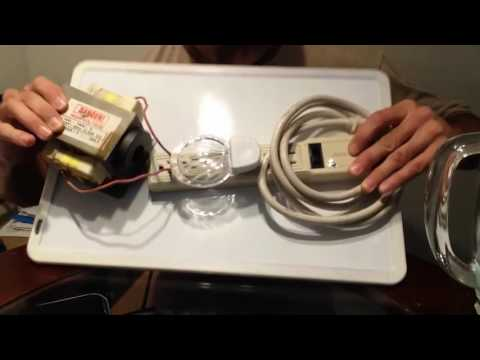 HOW TO MAKE FREE ENERGY FOR EVER!! WITH BIG TRANSFORMER AND OVERUNITY DEBUNKED!!