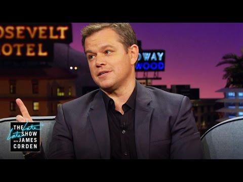 Matt Damon's Stunt Men Drink Well