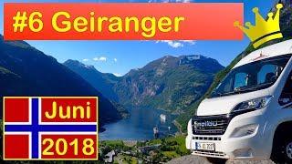 Norwegen Juni 2018 - Folge 6: Geirangerfjord