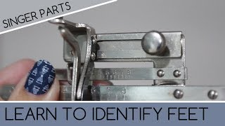 How to Identify Singer Simanco Sewing Machine Feet and SINGER 66 Examples