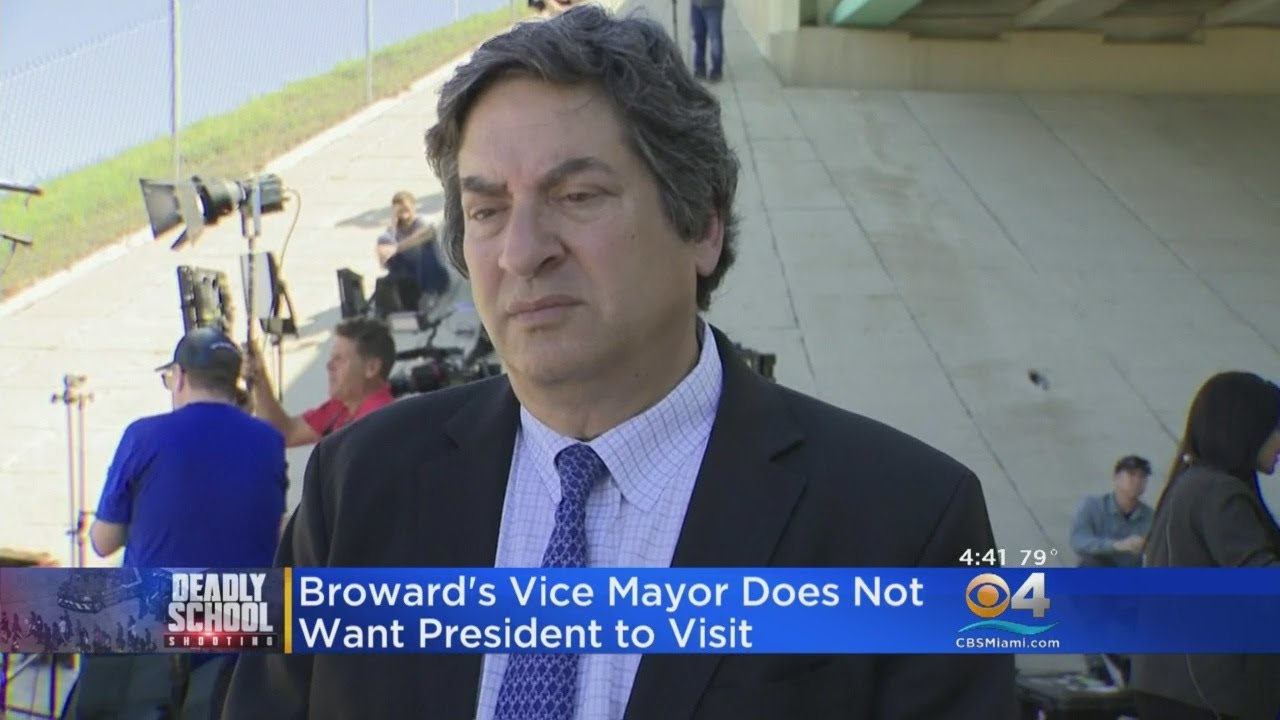 Broward's Vice Mayor Does Not Want President Trump To Visit