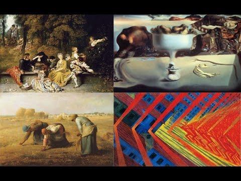 Европейская живопись: основные течения - Популярные видеоролики!