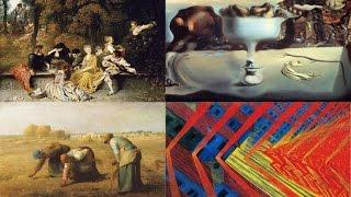 Европейская живопись: основные течения