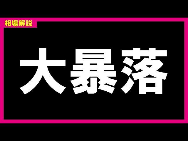 【日経平均】2日連続急落!大暴落再来か?暴落と反発の見極めを解説