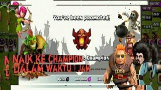 Cara gampang menuju liga champion game Clash Of Clans