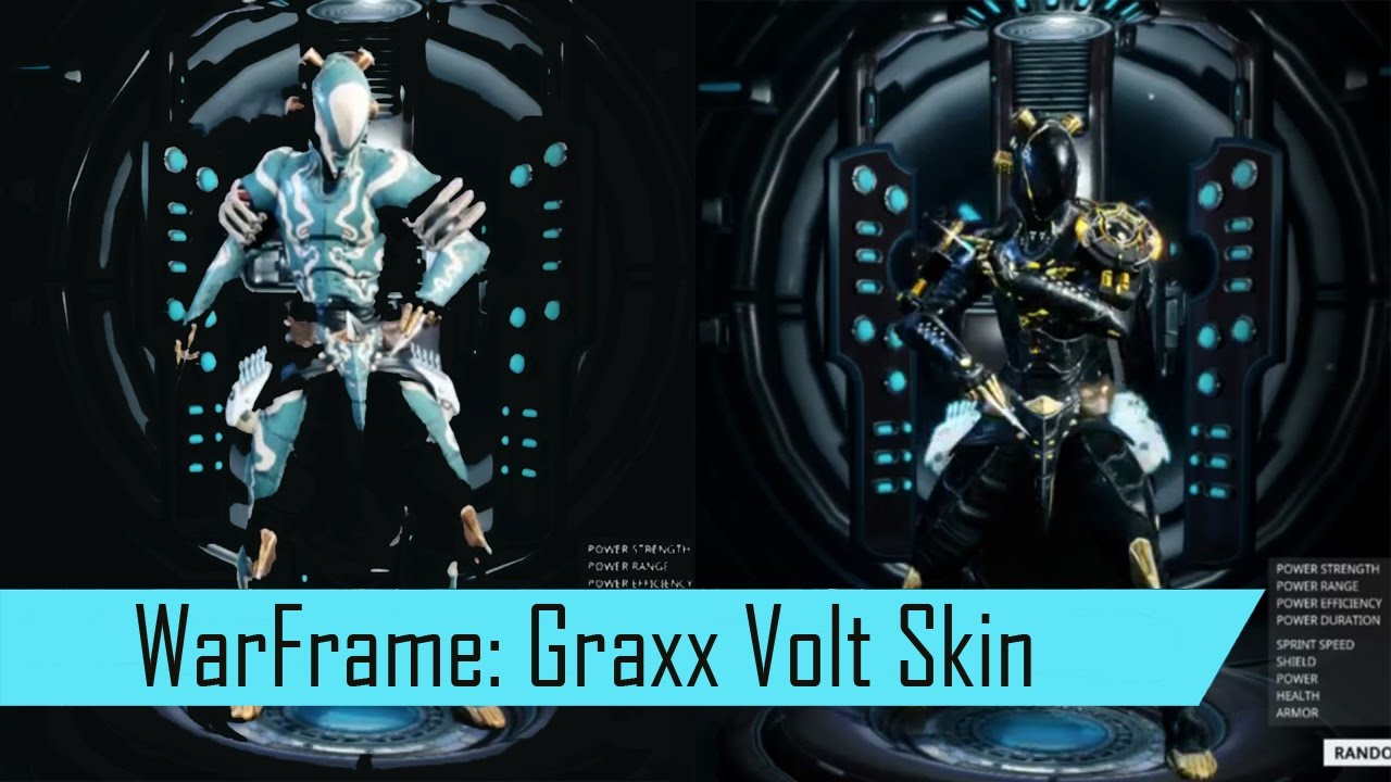 warframe graxx tennogen skin for volt fashion frame youtube. Black Bedroom Furniture Sets. Home Design Ideas