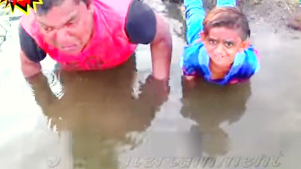 Download छोटू दादा पानी में | Chotu Dada Paani Me | Khandesh Hindi Comedy Chhitu  Comedy Video