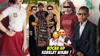 NGEBET BANGET, Inilah Pernikahan Anak Ingusan Yang Sempat Viral Di Indonesia